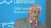 Enzymes, β-Glucans and Secondary Metabolites in Mushroom Nutrition - Professor Amin Karmali (PhD)